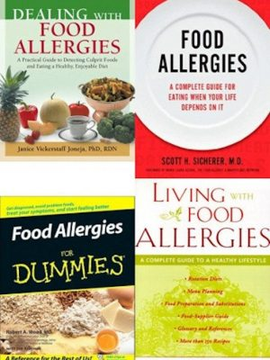 Food Allergies (Recipes, Cures, Detecting Culprit Foods) – 6 eBooks
