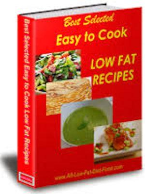 Low Fat Recipes – eBook