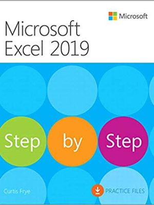 Microsoft Excel 2019 Step by Step