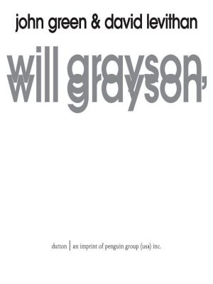 Will Grayson, Will Grayson – John Green – eBook