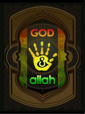 Yellow Hand Book – God & Allah, Beta – Makhoe van der Vlugt – eBook