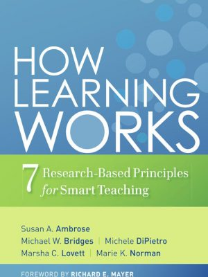 How Learning Works – Susan A. Ambrose – eBook