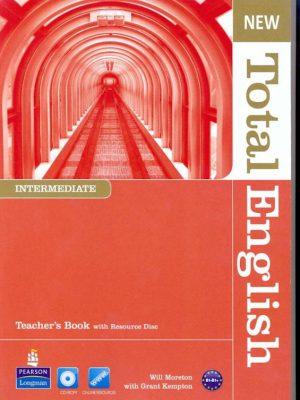New Total English Intermediate Teacher's Book – Will Moreton – eBook