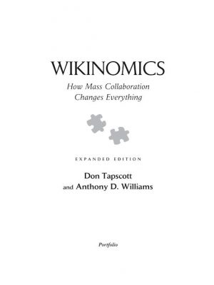 Wikinomics – Don Tapscott – eBook