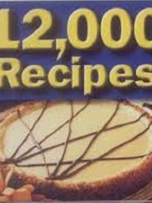 12000 Mixed Recipes + KFC Original Recipes – 96 eBooks