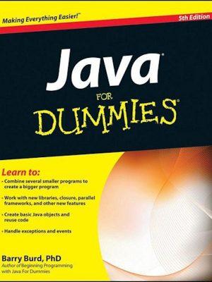 Java For Dummies – eBook