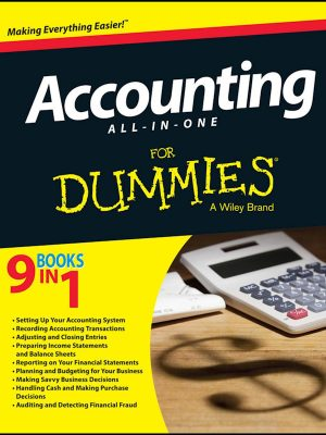 Accounting All-in-One For Dummies – Consumer Dummies – eBook